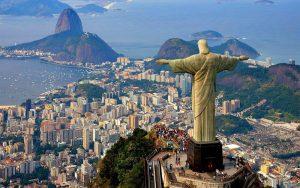 Touristes Français au Brésil