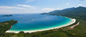 Praia Lopes Mendes Ilha Grande Brésil