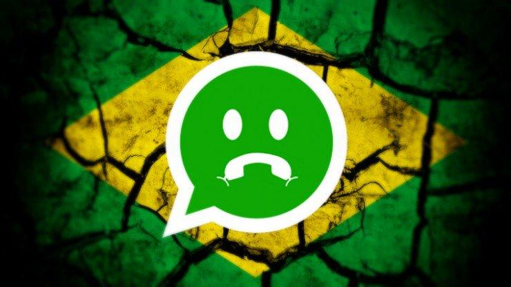 WhatsApp au Brésil