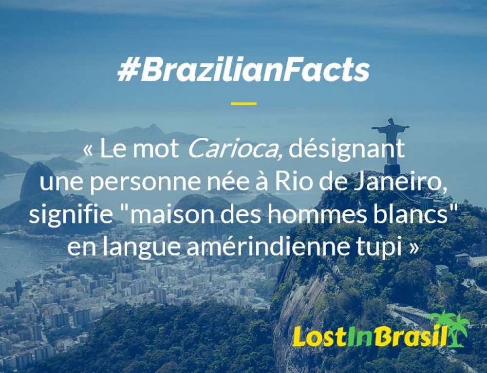 Que signifie le mot Carioca ?