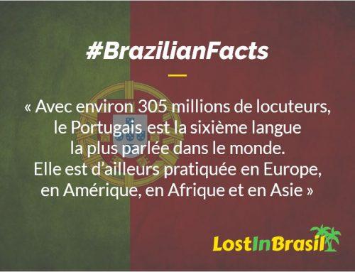 305 millions de personnes parlent le Portugais !