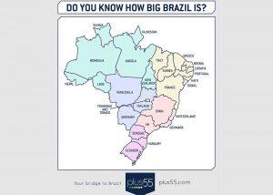 Brésil Superficie