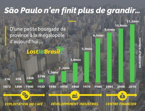 São Paulo, d'une bourgade à une mégalopole en 100 ans