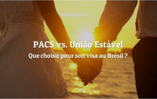 PACS União Estavel Brésil