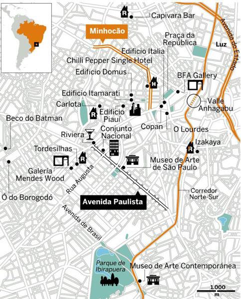 Centre São Paulo Brésil